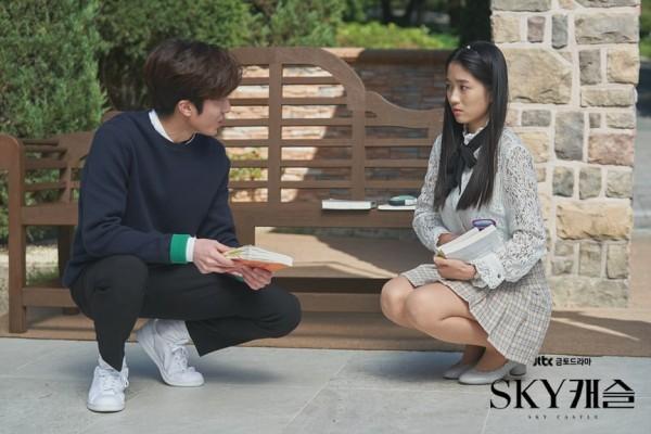 SF9 Chani and Kim Bo Ra in SKY Castle