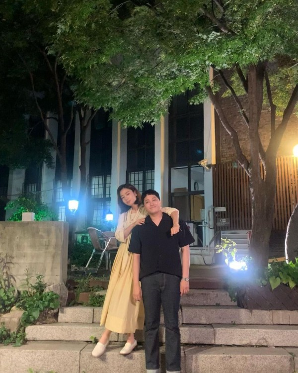 Kim Dae Myung and Ahn Eun Jin