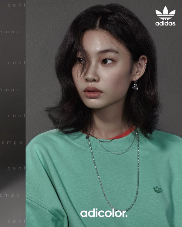 Adidas Features 'Squid Game' Actress Jung Ho Yeon in Latest Adicolor Campaign
