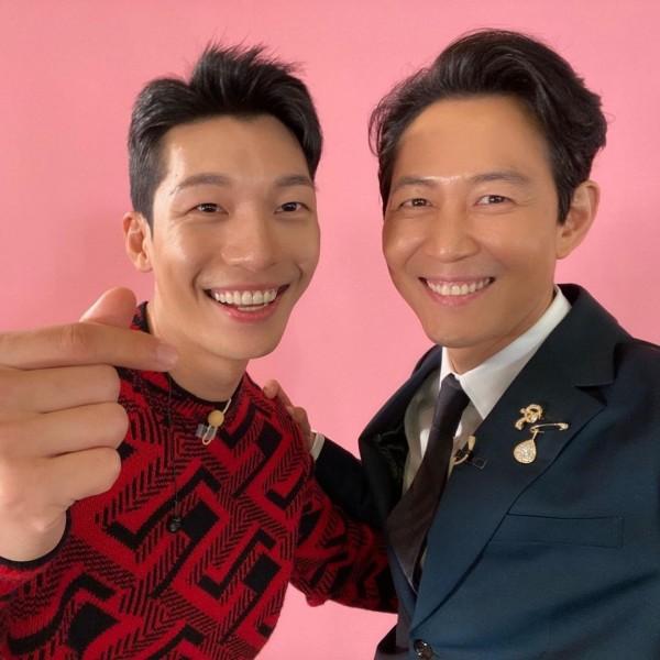 Wi Ha Joon and Lee Jung Jae