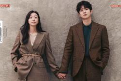 Choi Woo Shik and Kim Da Mi for Cosmopolitan Korea