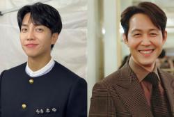Lee Seung Gi and Lee Jung Jae
