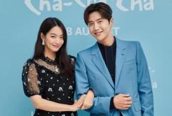 Shin Min Ah and Kim Seon Ho