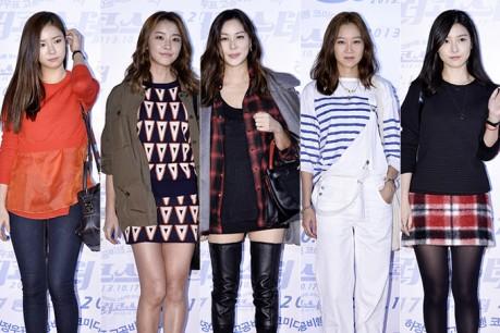 Shin Se Kyung, Jung Yoo Mi, Ko So Young, Gong Hyo Jin, & Kim So Eun