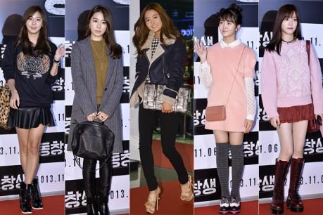 Uee, Yoo In Na, Nam Bo Ra, Kim So Hyun, & Lee Yoo Bi