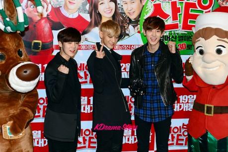 EXO's Tao, Luhan and Chanyeol