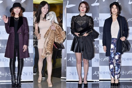 Minzy, Nancy Rang, NAVI and Park In Young