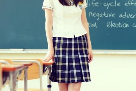 'Ghost' Lee Yeon Hee In School Uniform