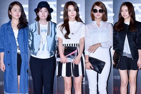 Moon Geun Young, Shim Eun Kyeong, Nam Gyu Ri, Nam Bo Ra and Shin Se Kyung