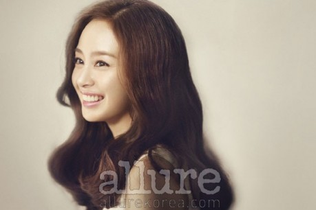 Kim Tae Hee with beauty 'Allure'
