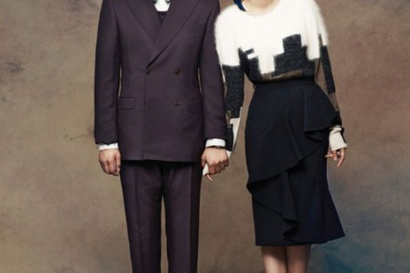 Lee Hee Jun and Cho Yun Hee with 'Instyle'