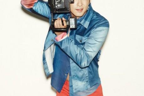 Kang Ji Hwan, 'Elle Girl' Photo
