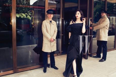 Kim Hyo Jin 'W' Magazine Photos