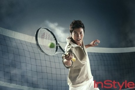 InStyle Male Actors Special Sports Photos