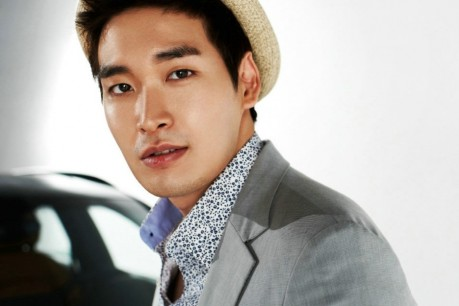Actor Jung Gyu Woon with Global car 'Audi'