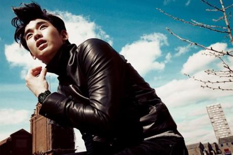 Kim Soo Hyun Harper's Bazzar Korea - Beautiful Stranger In London