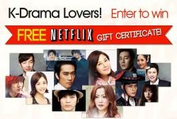 Get Free NETFLIX Gift Certificate!
