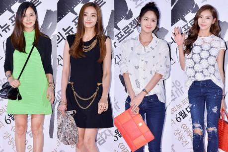 Ko Soyoung, Seoyoung, Jung Jooyeon and Han Chaeyoung