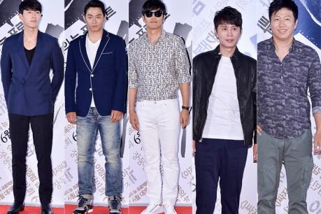 Kim Sooro and Kim Minjong, Lee Jonghyuk, Joo Jinmo and Hyunbin