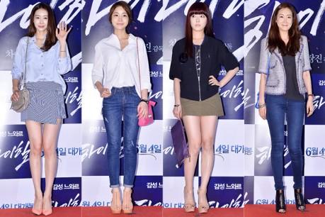 Wang Ji Hye, Yoon Jin Yi, Lee Se Young and Choi Ji Woo