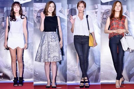 Go Sung Hee, Kim Min Seo, Kim Eun Jung and Sung Yu Ri