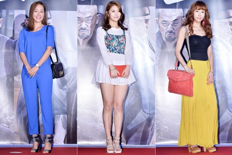 Uhm Ji Won, Jung Yun Hae and Chae Min Seo