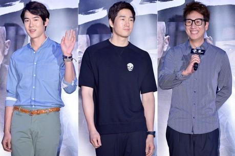Yoo Yeon Seok, Yoo Ji Tae and Lee Sun Kyun