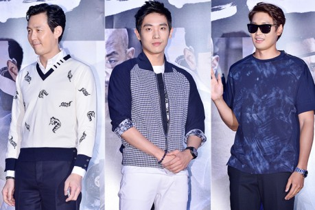 Lee Jung Jae, MBLAQ's Lee Joon and Jung Gyeo Woon