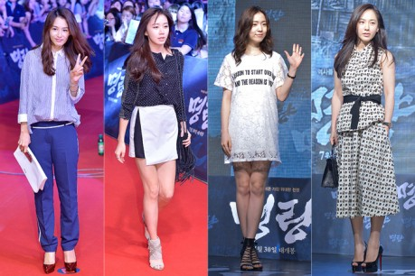 Kang Hye Jung, Ko Sung Hee, Ryu Hwa Young and Park Joo Mi