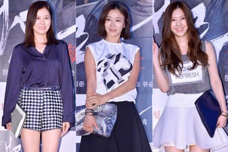 Moon So Ri, Park Hyo Joo and Son Se Bin