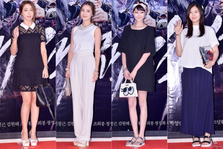 Lee Min Jung, Lee So Yeon, Lee Hye Jung and Jung So Min