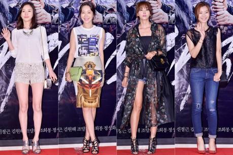 Sahee, Uhm Ji Won, Oh Yoon Ah and Yoon So Yi