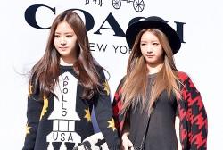 Naeun and Bomi