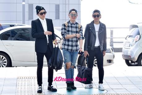 Block B's Zico, U-Kwon and B-Bomb