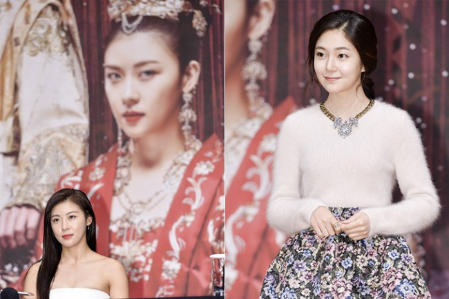 Ha Ji Won, Baek Jin Hee   MBC Empress Ki Press Conference - Oct 24, 2013 [PHOTOS] : Photos